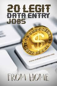 These Work From Home Companies 20 Legitimate Online Data Entry Jobs From Home That Really Pay