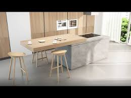 kitchen island with table extension breakfast top sliding kitchen island extension box15 youtube