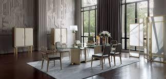 paris paname dining table glass top nouveaux classiques
