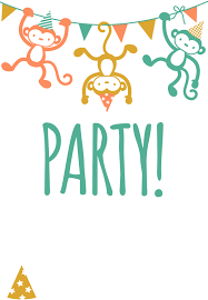 Printable Party Invitation Cards Free Printable Childrens Party Invitation Free Printables