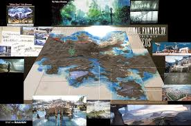 Final Fantasy 7 World Map by Full Map And Revealed Map Final Fantasy Xv Message Board For