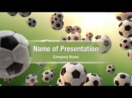 football games powerpoint video template backgrounds