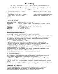 Database Administrator Resume Sample Resume Objectives Network Engineer Sample Resume Download