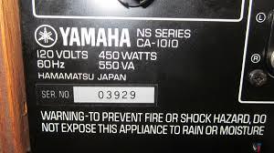 yamaha manuals yamaha ca1010 integrated stereo amplifier and yamaha ct1010 am fm