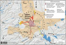 Map Of Active Volcanoes In The United States by Eruptions Of Lassen Peak California 1914 To 1917 U2014 A Centennial
