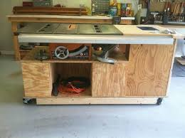 table saw router combo how to make a router and table saw combination table