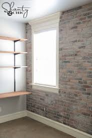 How To Paint A Faux Brick Wall - best 25 brick walls ideas on pinterest exposed brick kitchen