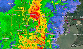 Houston Tunnel Map A Confirmed Tornado Was Located Over Northeastern Houston Ship