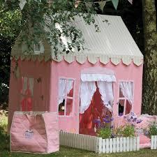 fun rooms pink fabric playhouse sweetheart playhouse pink