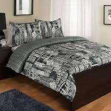 Bed Bath And Beyond Comforter Sets Full Buy Black Grey Queen Comforter Set From Bed Bath U0026 Beyond
