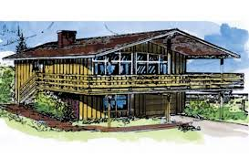 chalet house plans eplans chalet house plan three bedroom chalet 2076 square