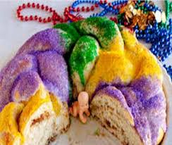 mardi gras candy mardi gras king cake candy gift boutique