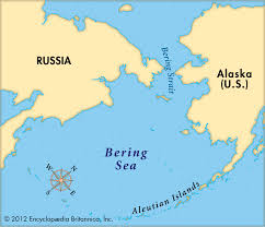 Map Of Russia And Alaska by Lincoln Park