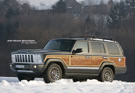 jeep wagoneer 1989 jeep wagoneer information and photos momentcar