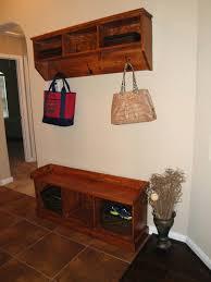 Diy Entryway Shoe Storage Furniture White Wood Diy Entryway Mudroom And Shoe Storage Design