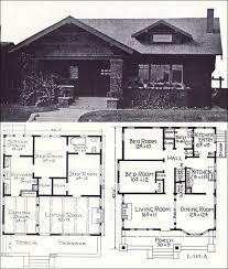 1920s floor plans 1920s home plans