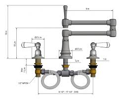 articulated kitchen faucet widespread kitchen faucets