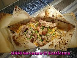 cuisine en papillote estouffade de porc en papillotte se régaler de cuisine légère