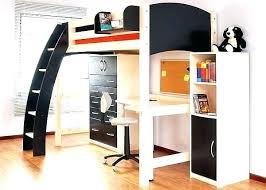 bureau mezzanine lit mezzanine bois blanc 2 places lit mezzanine une place lit