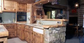 cuisine vieux bois cuisines ebénisterie bonnevie