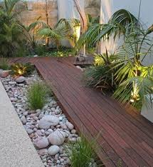 Small Backyard Japanese Garden Ideas Patio Zen Garden Equip Wood Flooring Pebbles Green Plants Garden
