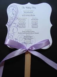 customized wedding programs customized wedding programs place cards table cards menus