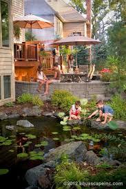Backyard Pond Images 17 Best Ponds For Kids Images On Pinterest Backyard Ponds Pond