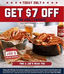 coupons for joe s crab shack die besten 25 joe s crab shack coupons ideen auf