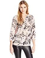ivanka blouse ivanka s stripped v neck cotton top at amazon s