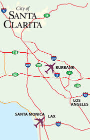 santa clarita map your official guide to santa clarita southern california travel