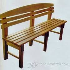 Outdoor Woodworking Projects Plans Tips Techniques by Japanese Garden Bench Plans Outdoor Furniture Plans And Projects