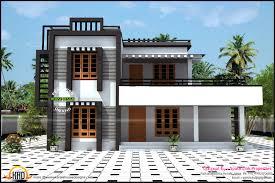 box type house kerala home design and floor plans irish mod