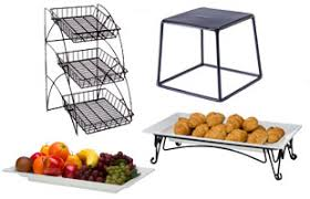 food displays trays bins dispensers risers and other organizers