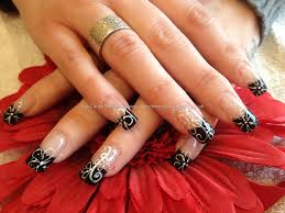nail designs with black tips u2013 slybury com