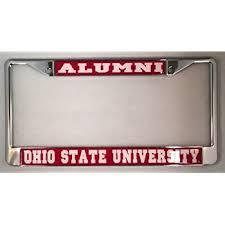 ohio alumni license plate frame ohio state buckeyes alumni license plate