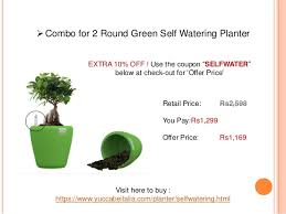 offer for self watering pots u0026 planters yuccabe italia