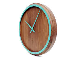 Design Clock by Madera Walnut Clock By Otono Design