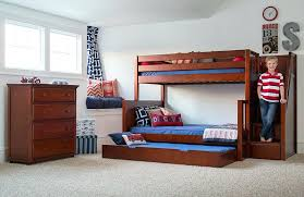 Bunk Bed Kid Futon Bunk Bed Bunk Bed Wood Sumo Chestnut With Kid