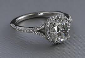 diamond ring necklace images Wedding rings round diamond halo pendant necklace the helo jpg