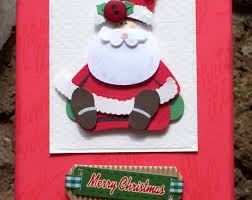 card templates christmas card with greetings text santa