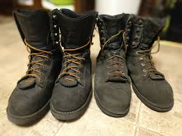 danner boots black friday sale danner quarry u0027s new usa made on left 2 year old chinese made on