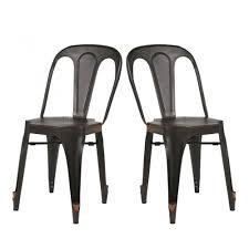 Chaise Industrielle Métal Noir Antique Déco Industrielle Chaise Industrielle Style Multipl S Par Drawer