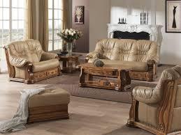 canapé en cuir belgique en cuir rustique