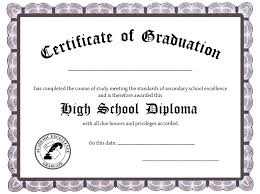 ged template blank diploma certificate template