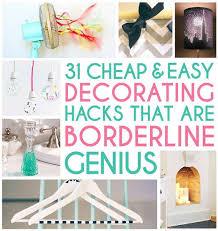 Home Decor Stuff For Cheap 31 Home Decor Hacks That Are Borderline Genius Buzzfeed Easy