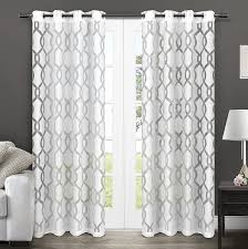 amazon com exclusive home curtains rio burnout sheer grommet top