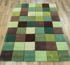 Modern Green Rugs Ed 10 Pixel Green Brown Image 1 Bedroom Decor Pinterest