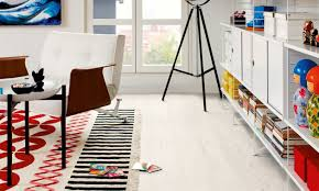 Laminate Pine Flooring Hdf Laminate Flooring Click Fit Wood Look Commercial White