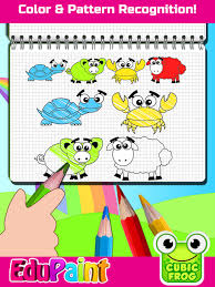 coloring games painting book toddlers edupaint app store