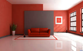 living room interior wall painting colour combinations red